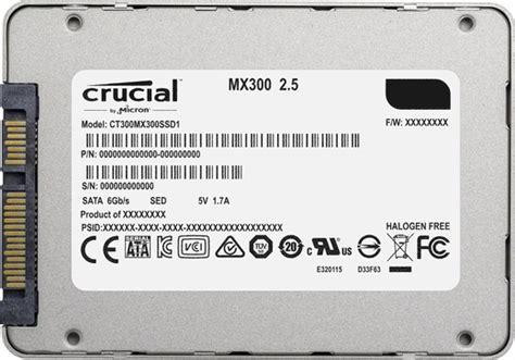 Crucial Mx300 275gb Sata 25 7mm With 95mm Adapter R530 W500 crucial ct525mx300ssd1 525gb mx300 sata 2 5 quot ssd