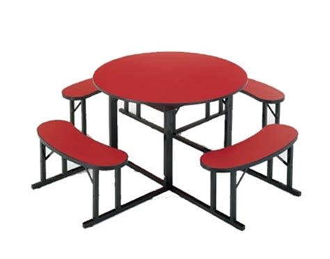cafeteria tables with attached seating barricks manufacturing cafeteria table with attached
