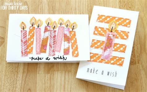 Handmade Birthday Cards For Best Friend - handsewn birthday cards