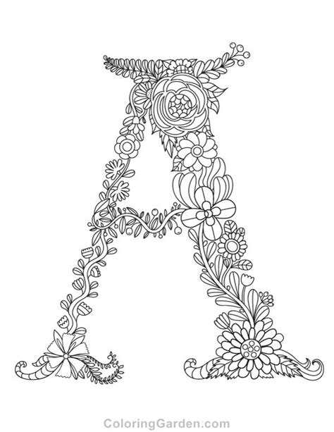 letter a coloring pages 92 best coloring pages at coloringgarden images