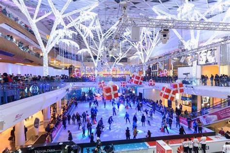 christmas by numbers at westfield shopping centre get