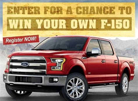 Sweepstakes Ford - sun loan s ford f 150 sweepstakes giveaway gorilla