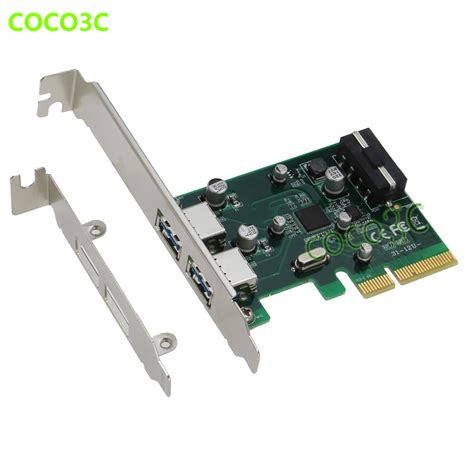 Usb Card Pci Express aliexpress buy desktop pci e 4x to usb3 1 type a
