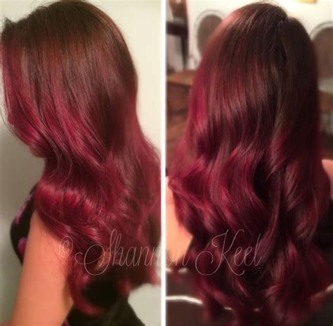 how to get marsala as a hair color instyle 1000 images about hair color on pinterest magenta hair
