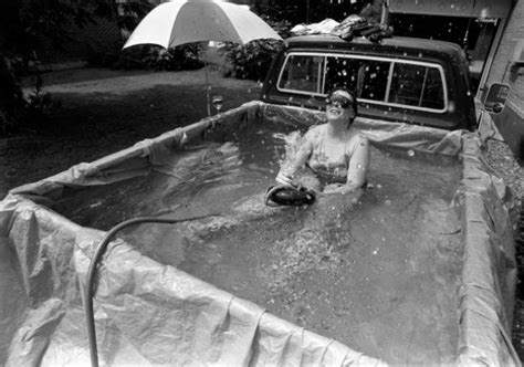 truck bed pool a swimming pool in a truck bed country bumpkin life