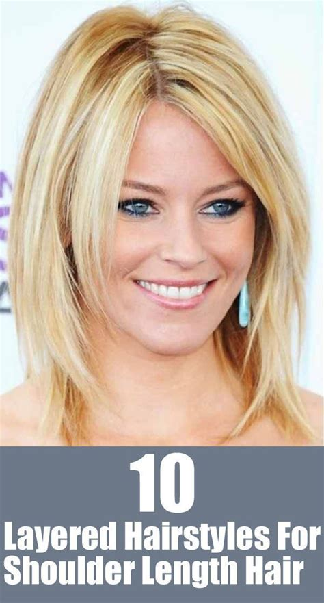 new hair styles for 20 something 20 great shoulder length layered hairstyles shoulder