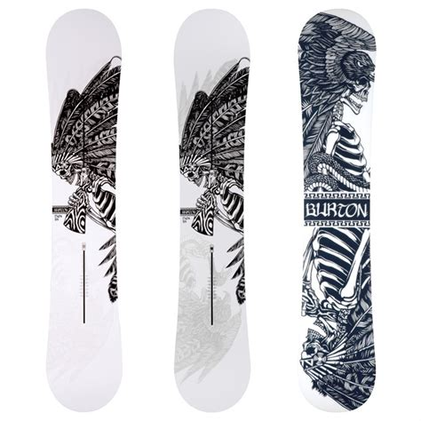 burton twin channel snowboard 2010 evo