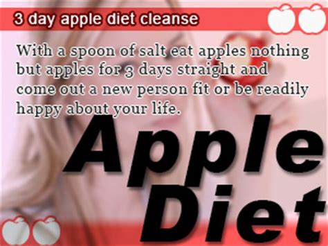 3 Days Apple Detox Diet Weight Loss by Cleanse Diet Weight Loss