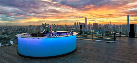 roof top bar in bangkok octave rooftop du marriott bangkok sukhumvit silencio
