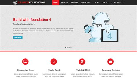 foundation zurb com templates image collections