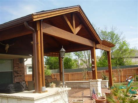 great patios decor wooden pillar design ideas with covered patio ideas