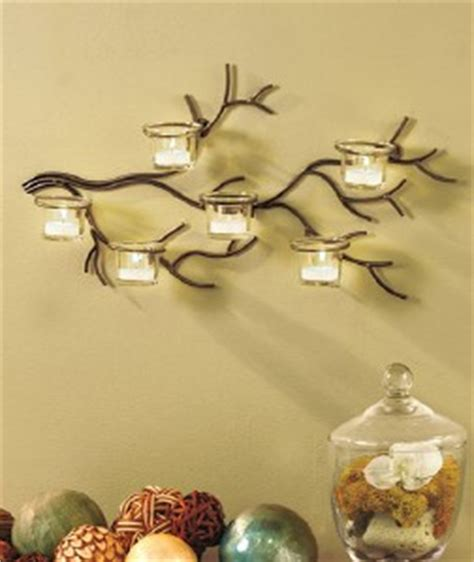 Tree Branch Metal Candle Holder Sconce Wall Art Decor Ebay Candle Holders Wall Decor