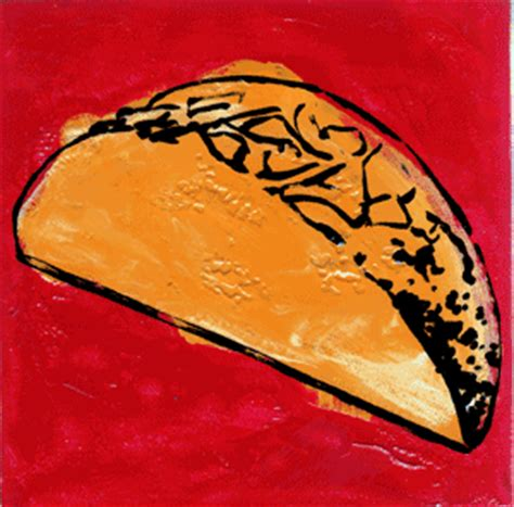 pop expressionism taco pop painting by erica wolfsen