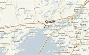 kingston canada map kingston canada location guide