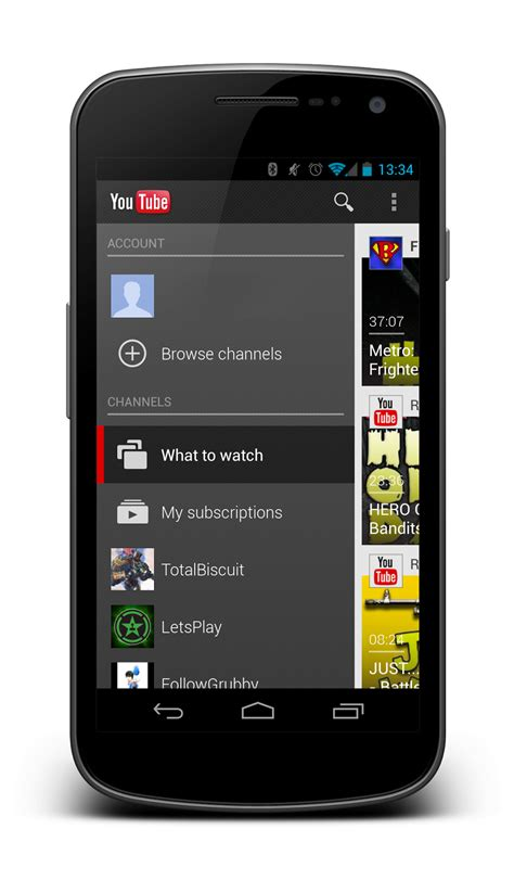 android navigation pattern android ui patterns the new navigation drawer design pattern