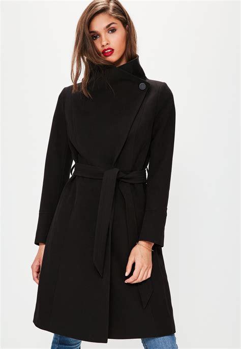 Black Coat black pea coat womens tradingbasis