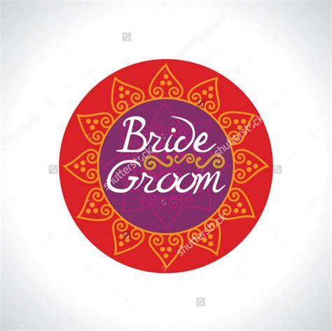 Wedding Card Logo Design by 25 Wedding Logo Designs Exles Psd Ai Eps Vector