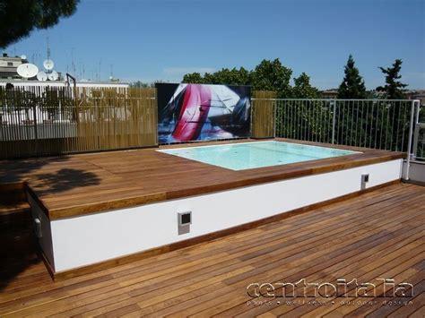 piscine su terrazzi minipiscine da terrazzo come creare un angolo relax