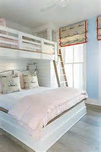 girls queen bed pink and blue girl room with queen bed under loft bed cottage girl s room