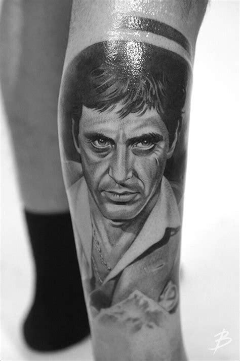 scarface tattoo scarface tony montana tattoos