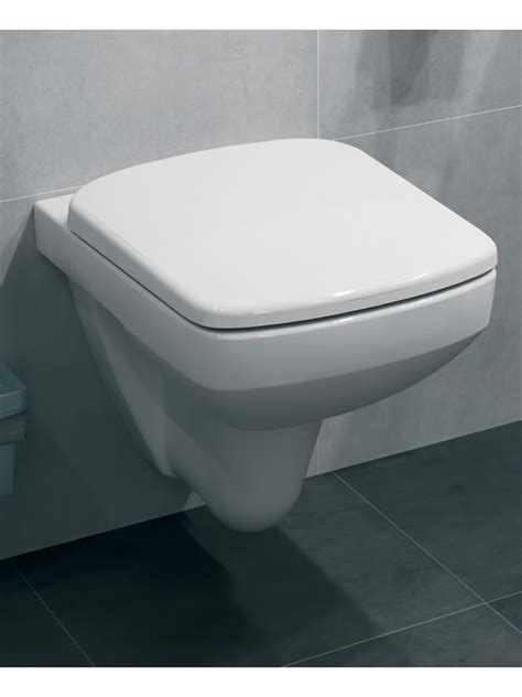 square wall hung toilet standard seat