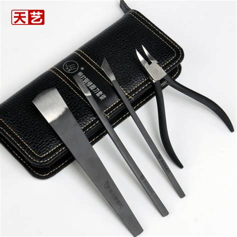 Sale Fathin Set 4in1 Istimewa sale professional hadifield steel knife pedicure knife tool set 4in1 manicure set with pu