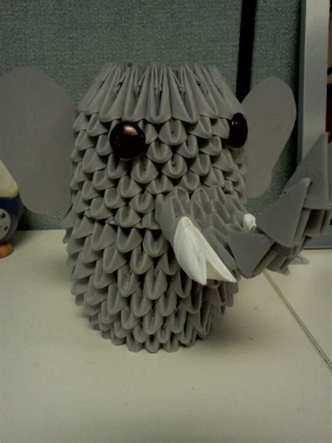 3d Origami Elephant - 17 best images about 欲しいもの on origami step by