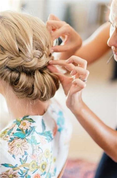 Wedding Hairstyles Braids Low Bun by 26 Braids For Wedding Hairstyles Hairstyles