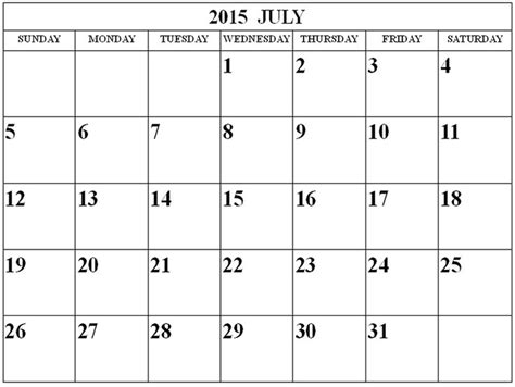 printable monthly calendar word document july 2015 calendar get an exclusive collection of july