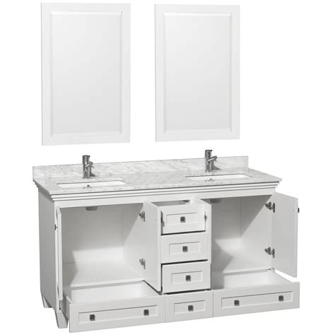 white double sink bathroom vanity 301 moved permanently