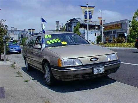 1988 ford taurus wagon ford taurus gl wagon 1988 picture gallery motorbase