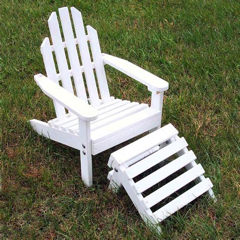 adirondack chair and ottoman prairie leisure kiddie adirondack chair and ottoman kids