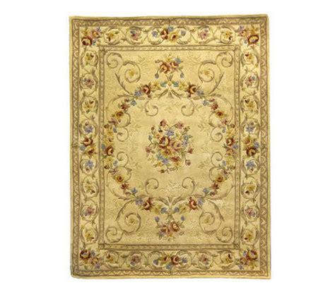 qvc royal palace rugs royal palace marissa 7x9 handmade wool rug qvc
