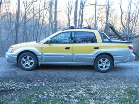 yellow subaru baja find used 2003 yellow subaru baja in charleston