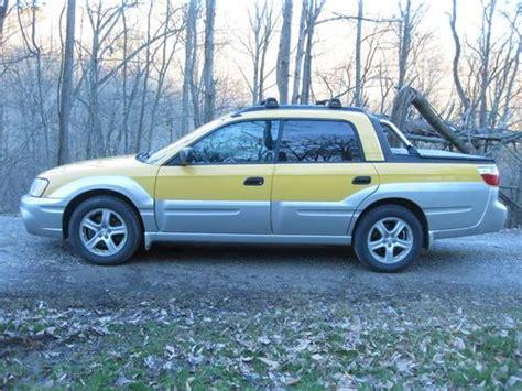 yellow subaru baja find used 2003 yellow subaru baja in charleston west