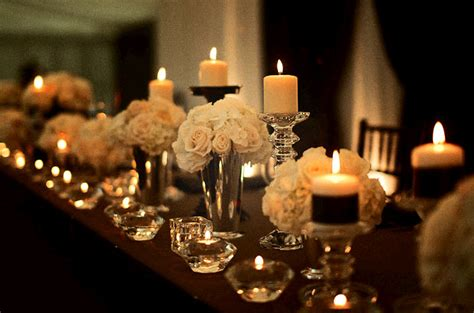 wedding table decorations with candles and flowers personalized unity wedding candles adding them to your wedding