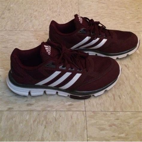 maroon color shoes adidas shoes maroon athletic poshmark