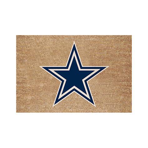 dallas cowboys home decor dallas cowboys colored logo door mat home decor home