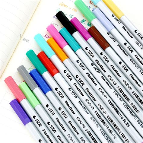 colored ink pens aliexpress buy 18pcs set color ink gel colored