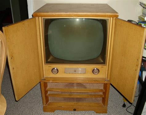 vintage tv cabinet with doors 93 best images about 1950 s blond furniture on