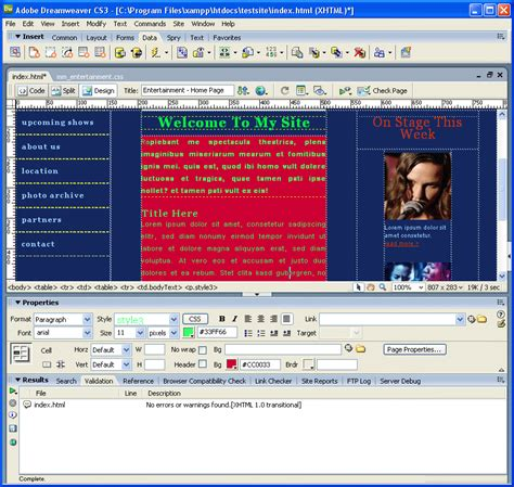 dreamweaver app templates archives coilmeena
