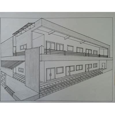 tutorial menggambar nirmana seni itu indah gambar perspektif