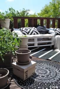 meuble de jardin en palette de bois c 244 t 233 maison