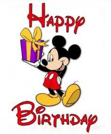 happy birthday greeting card image mickey mouse cartoon