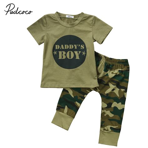 Gelang Baby 2 Pcs 2pcs baby clothes newborn toddler army green baby boy