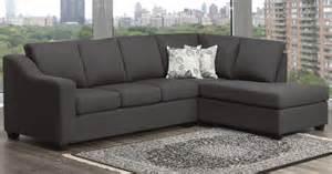 sofa sectionnel gris avec choix de tissu salon