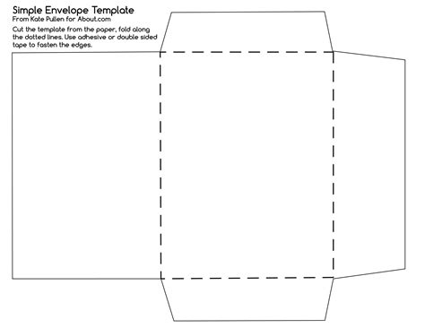 How To Make An Envelope With 8 5 X 11 Paper - 10 envelope template cyberuse