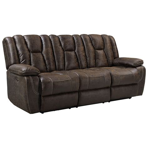 motion sofas recliners standard furniture buckaroo 4097391 motion sofa with
