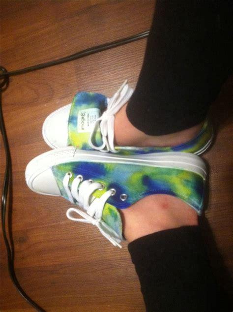 sharpie tie dye shoes cool shoes
