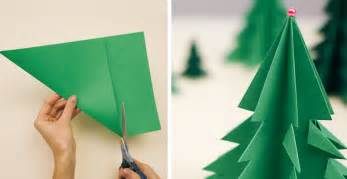 how to make 3d paper christmas tree diy crafts